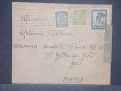 Espagne - Enveloppe De Barcelone Pour La France En 1938 Avec Censure - L 8445 - Republikanische Zensur