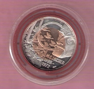 NEDERLAND 10 EURO 1998 M.C. ESCHER ZILVER/BIMETAAL - Netherland