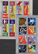Blocs Stamp Of Stamps CEPT/EUROPA 1956-1970 Jemen 1109/6,1174/0 Je KB O 16€ Space 1970 Ms Se-tenant Sheetlets Yemen - Space