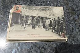 C P A  Cochinchine Tonkin Yen-Thé Pirate Amené à Cho-Cho Pour ètre Interrogé Gros Plan Animé Viêt-Nam Indochine Rebelle - Vietnam