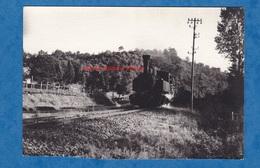 Photo Ancienne - Chemin De Fer à Situer - Voir Locomotive & Wagon - Bahn Rail Railway Railroad Eisenbahn - Trains