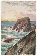 Land's End, Cornwall, 1906 - Hildesheimer Postcard - Land's End