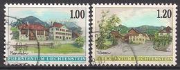 Liechtenstein  (1999)  Mi.Nr.  1193 + 1194  Gest. / Used  (17fg27) - Liechtenstein