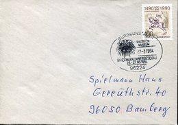 22213 Germany, Special Postmark 1994 Burgkunstadt, Showing A Tribolit - Préhistoire