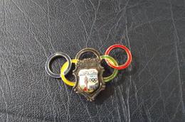 Munich  Olimpic Games 1972.   4.5x3cm  Enamelled Big Pin - Olympische Spiele