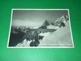 Cartolina Rifugio Torino Al Colle Del Gigante ( Courmayeur ) 1940 Ca - Unclassified