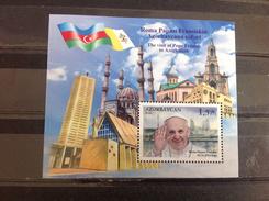 Azerbeidzjan / Azerbaijan - Postfris / MNH - Bezoek Paus Franciscus 2016 - Azerbeidzjan