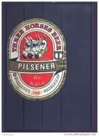 Madagascar - Etiquette De Bière THREE HORSES BEER - Usagée - - Beer