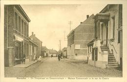 Merxplas ( Merksplas)   :   De Dorpstraat En Gemeentehuis - Merksplas