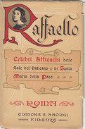 Raffaello - Celebri Affreschi  - 6 Cartoline In Copertina - Ed.Sborgi     (A-42-150707) - Vaticano