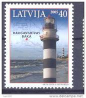 2005. Latvia, Lighthouse, 1v, Mint/** - Letland
