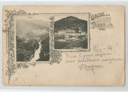 68 Haut Rhin - Gruss Aus Thann Ed Trenkler Leipziq 8833 - Thann