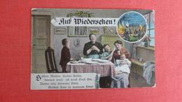 Family At Home Praying Auf Wiedershen   -ref-2600 - Guerra 1914-18