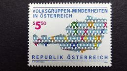 Österreich 2135 **/mnh, Volksgruppen-Minderheiten In Österrreich - 1991-00 Neufs