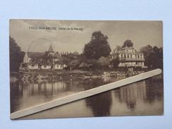 """FOOZ- SUR -MEUSE """" Hôtel De La Meuse """"  1922. - Awans"""
