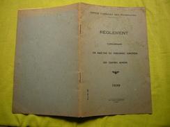 Règlement Maisons Des Centres Miniers De L'office Chérifien Des Phosphates Rabat Maroc 1951 - Vieux Papiers