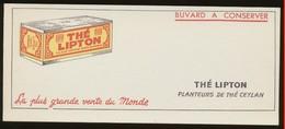 Buvard - THE LIPTON - Buvards, Protège-cahiers Illustrés
