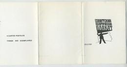 Lot De 4 Cartes Postales édition Gruss Aus Bruxelles. Russie. Communisme Contre Fascisme. - Künstlerkarten