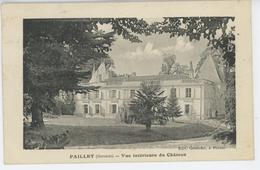 PAILLET - Vue Intérieure Du Château - Sonstige Gemeinden