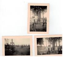 Cimetière Italien De Champigny: 3 Photos 10x7cm 1935 - Champigny