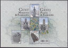 Jaar 2016 - Bl 234 - Gent: Markten En Floraliën / Gand: Places Et Floralies - Blocs 1962-....