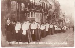 PK - Begrafenis - Funérailles Cardinal Kardinaal Mercier - Brussel Bruxelles 1926 - Funérailles