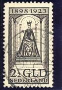 NVPH Nr. 130 Gebruikt (met Attest En Met Gebreken, CW = € 275,-) - Period 1891-1948 (Wilhelmina)