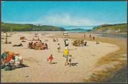 Porth Beach, Newquay, Cornwall, 1968 - Postcard - Newquay