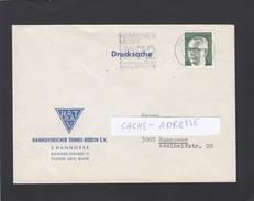 HANNOVERSCHER TENNIS-VEREIN. - Covers & Documents
