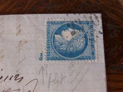 Lot Du 07.06.17_ LAC  De Mende (46), Variété Sur N°60 - 1871-1875 Ceres