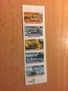 """U.S.A. """"Riverboats - Self-Adhesive"""", Strip Of 5, Anno 1996 - Stati Uniti"""