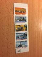"U.S.A. ""Riverboats - Self-Adhesive"", Strip Of 5, Anno 1996 - Nuovi"