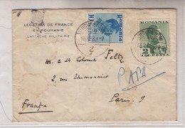 Roumanie, Lettre YT N°489 & 1939 - 1918-1948 Ferdinand, Charles II & Michael
