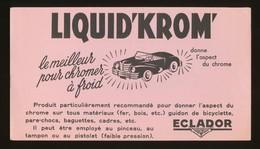 Buvard - LIQUID'KROM - ECLADOR - Buvards, Protège-cahiers Illustrés