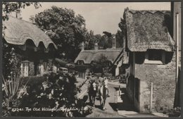 The Old Village, Shanklin, Isle Of Wight, C.1950s - Domino Series RP Postcard - Other