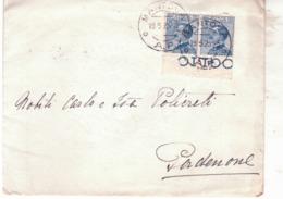 Lettera Da  Mantova A Pordenone  1923    F101 - Storia Postale