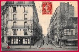CPA 94 St SAINT-MANDE - Rue FAYS (banque CREDIT LYONNAIS - Dégustation D'Huîtres) ° Collection F. Fleury - Saint Mande