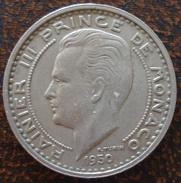 (J) MONACO: 100 Francs 1950 XF+ (1503) SALE!!!! - Mónaco