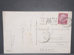ALLEMAGNE - Carte Postale De Leipzig Pour La France En 1935 - L 8549 - Allemagne
