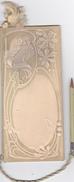 CARNET De BAL COMMUNE De MOUROUX (77) - Jeunes Gens De L'Usine De MOUROUX - Gauffré ART NOUVEAU Bel état 1910 Av Crayon - Ohne Zuordnung
