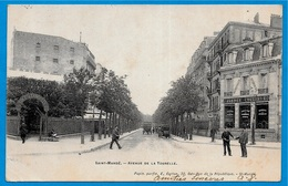 CPA 94 St SAINT-MANDE - Avenue De La Tourelle (Agence Cycliste - Magasin De Vélos) ° E. Carton - Saint Mande