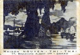 MILITARIA Guerre D'indochine Petit Calendrier Publicitaire Ramené En 1955 Par Un Soldat Français DAKAO SAIGON - 1939-45