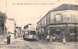 93 - SEINE ST DENIS / Neuilly Plaisance - Avenue De La Station - Beau Plan Tramway - Neuilly Plaisance