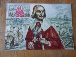 FRANCE (1970) RICHELIEU - Maximum Cards