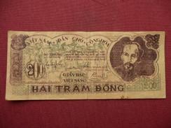 VIETNAM Billet De 200 Dong 1950 - Vietnam