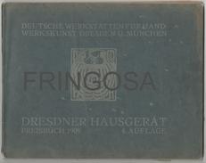 Deutsche Werkstätten Für Handwerkskunst 1909 - Catalogues