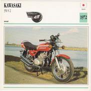 Fiche : MOTO / JAPON / KAWASAKI  350 S 2 / 1972 - Motos