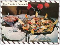 Y1210 LA RECETTE LA PAELLA ESPAGNOLE  E BERNARD - Recettes (cuisine)