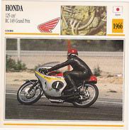 Fiche : MOTO / JAPON / HONDA RC 149 Grand Prix / 1966 - Motos