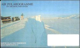 1990's NEW ZEALAND UNUSED MINT AIR POLAROGRAMME LETTERSHEET - Francobolli